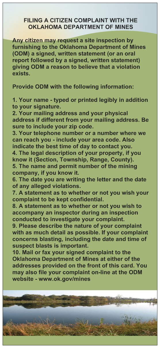 How to file a citizen complaint