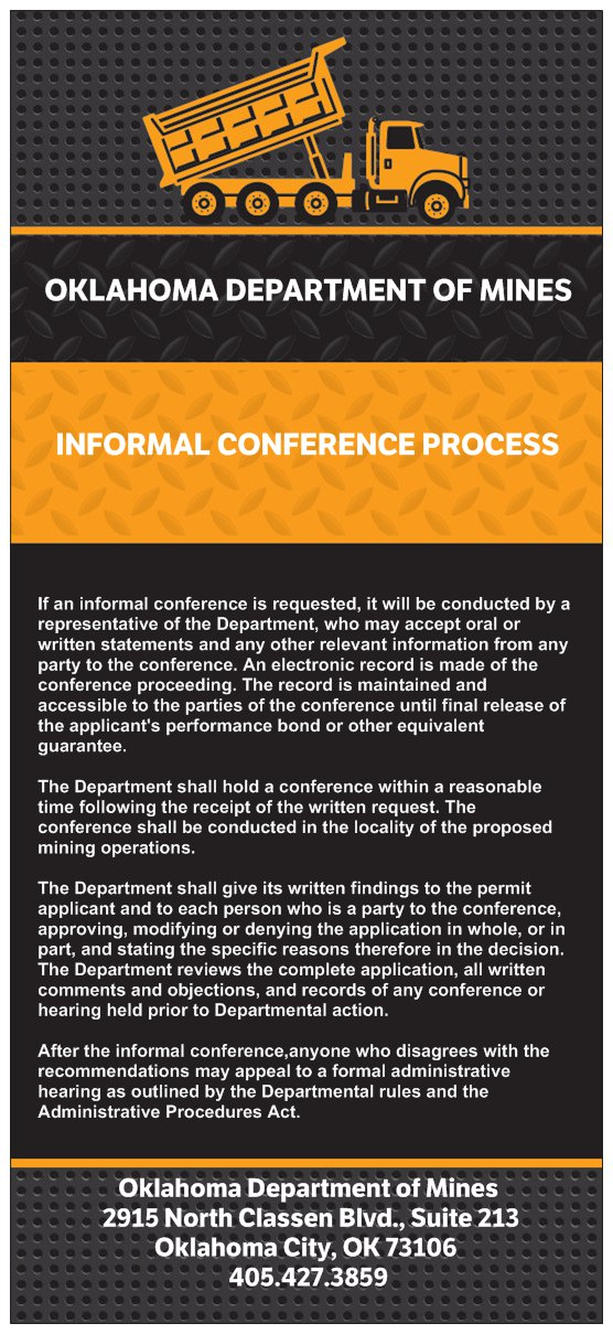 noncoal informal conference process