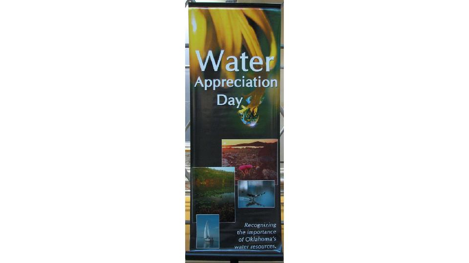 convention banner with text water appreciation day