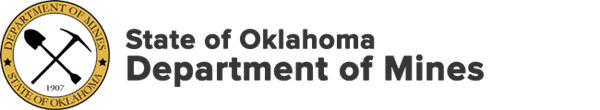 Oklahoma Department of Mines logo